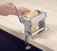 use a pasta machine to make pasta
